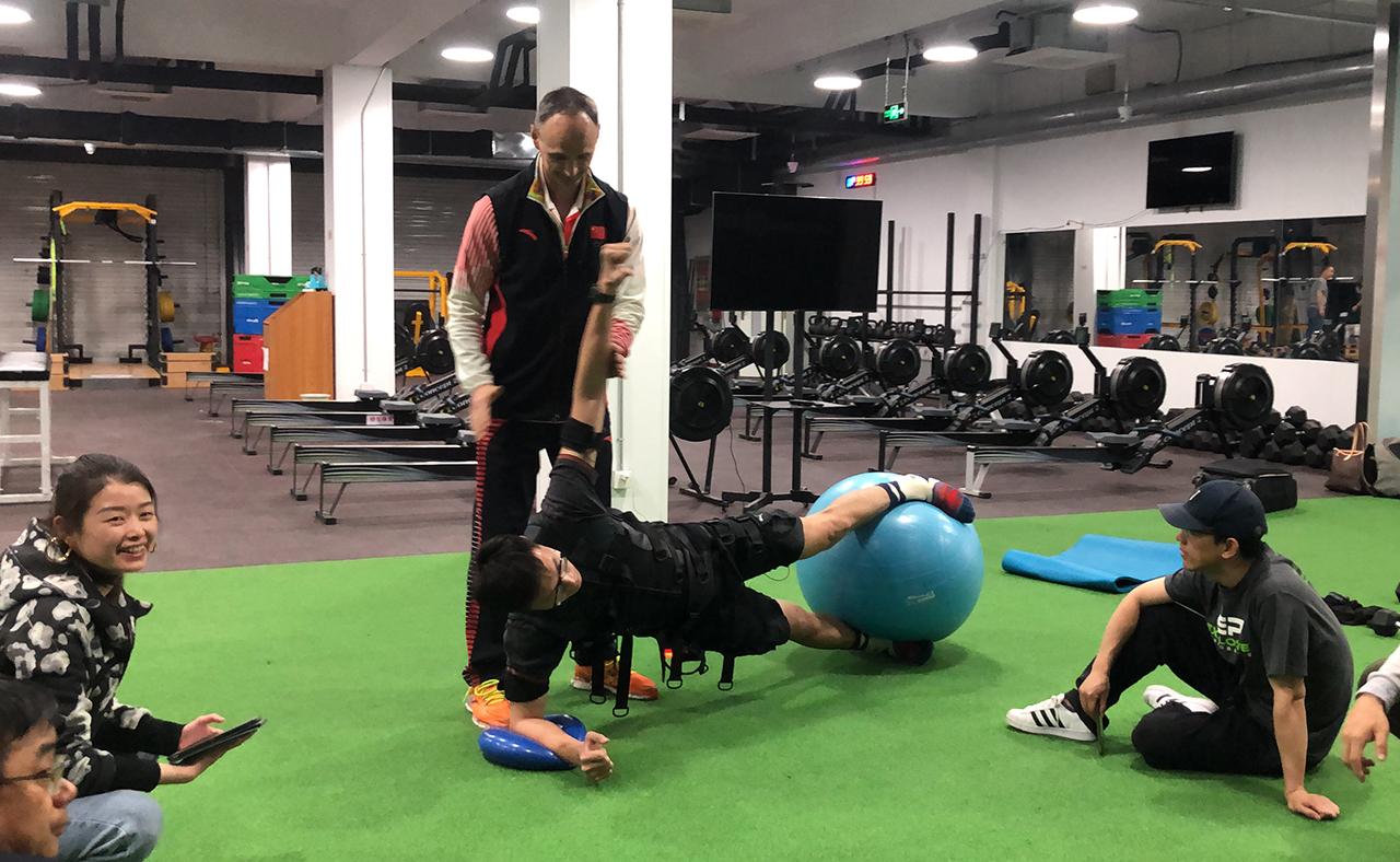 EMS国家体育队训练课程